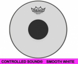 "Remo 14"" controlled sound Smooth White - 14725"
