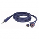 Cable audio Jack estéreo a 2 RCA - 7383